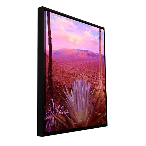 "ArtWall 'Desert Cycle' Gallery-Wrapped Canvas 18"" x 24"" Floater-Framed (0uhl109a1824f)"