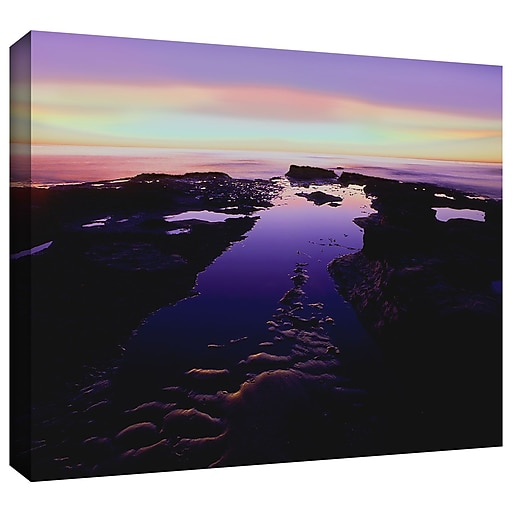 "ArtWall ""Low Tide Afterglow"" Gallery-Wrapped Canvas 36"" x 48"" (0uhl113a3648w)"