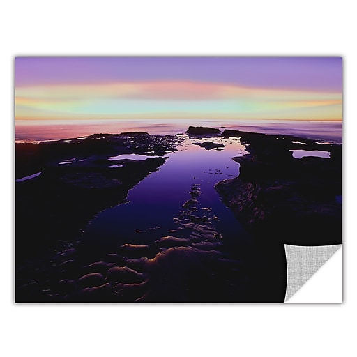 "ArtWall 'Low Tide Afterglow' Art Appeelz Removable Graphic 24"" x 32"" (0uhl113a2432p)"