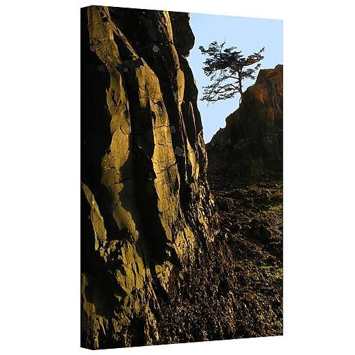 "ArtWall ""Oregon Coast Sunset"" Gallery-Wrapped Canvas 24"" x 32"" (0uhl116a2432w)"