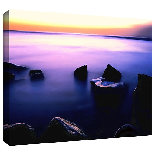 "ArtWall 'Pacific Afterglow' Gallery-Wrapped Canvas 14"" x 18"" (0uhl117a1418w)"