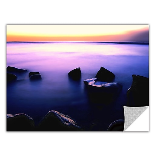 "ArtWall 'Pacific Afterglow' Art Appeelz Removable Wall Art Graphic 14"" x 18"" (0uhl117a1418p)"
