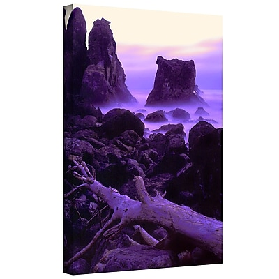 ArtWall 'Patricks Point Twilight' Gallery-Wrapped Canvas 18