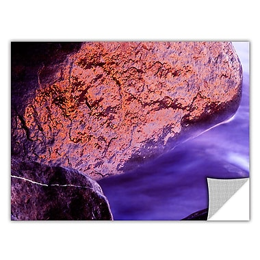 ArtWall 'Rock Surf And Sunset' Art Appeelz Removable Wall Art Graphic 24