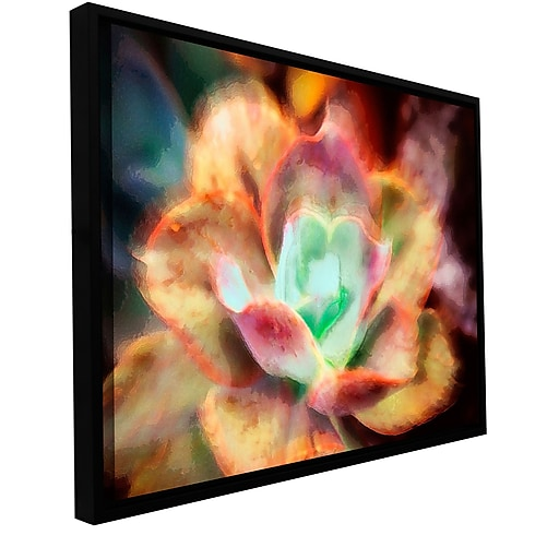"""ArtWall 'Anapo Dawn' Gallery-Wrapped Canvas 36"""" x 48"""" Floater-Framed (0uhl122a3648f)"""