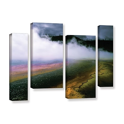 ArtWall 'Approaching Storm' 4-Piece Gallery-Wrapped Canvas Staggered Set 36