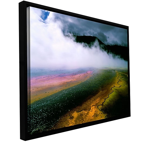 """ArtWall 'Approaching Storm' Gallery-Wrapped Canvas 36"""" x 48"""" Floater-Framed (0uhl123a3648f)"""