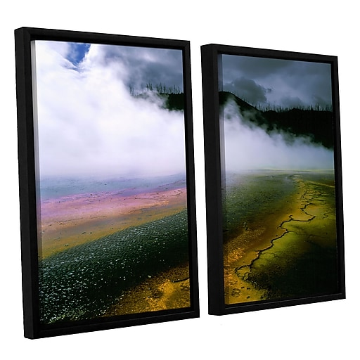 "ArtWall ""Approaching Storm"" 2-Piece Canvas Set 24"" x 36"" Floater-Framed (0uhl123b2436f)"