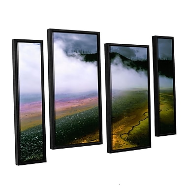 ArtWall 'Approaching Storm' 4-Piece Canvas Staggered Set 36