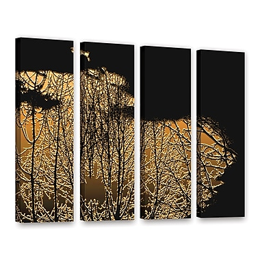 ArtWall 'Break In The Storm' 4-Piece Gallery-Wrapped Canvas Set 36