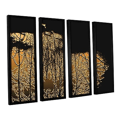ArtWall 'Break In The Storm' 4-Piece Canvas Set 24