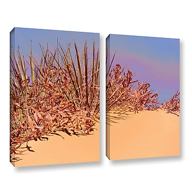 ArtWall 'Coral Dunes Noon' 2-Piece Gallery-Wrapped Canvas Set 24