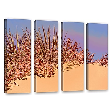 ArtWall 'Coral Dunes Noon' 4-Piece Gallery-Wrapped Canvas Set 36