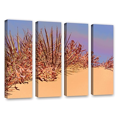 ArtWall 'Coral Dunes Noon' 4-Piece Gallery-Wrapped Canvas Set 24