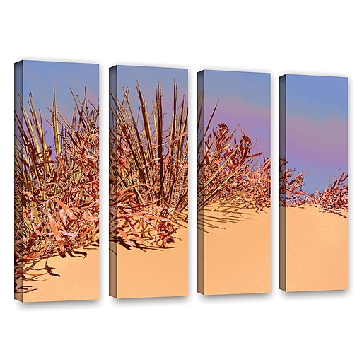 "ArtWall 'Coral Dunes Noon' 4-Piece Gallery-Wrapped Canvas Set 24"" x 32"" (0uhl129d2432w)"