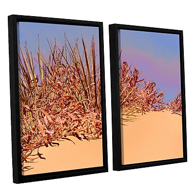 ArtWall 'Coral Dunes Noon' 2-Piece Canvas Set 24
