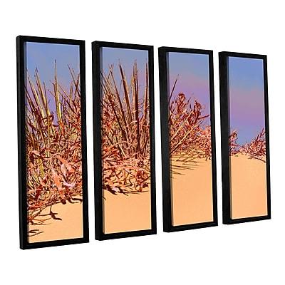 ArtWall 'Coral Dunes Noon' 4-Piece Canvas Set 24