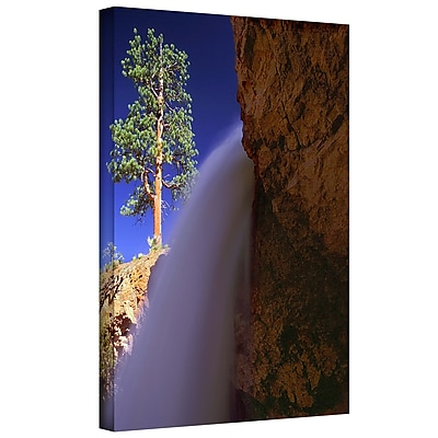 ArtWall 'Creek Fall At Bryce' Gallery-Wrapped Canvas 18