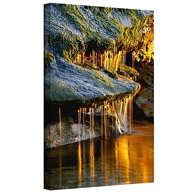 ArtWall 'Dripping Sunlight' Gallery-Wrapped Canvas 36