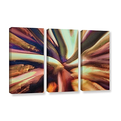 ArtWall 'Espectro Suculenta' 3-Piece Gallery-Wrapped Canvas Set 36