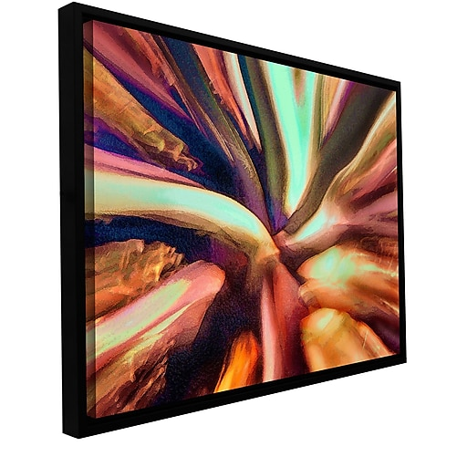 """ArtWall 'Espectro Suculenta' Gallery-Wrapped Canvas 24"""" x 32"""" Floater-Framed (0uhl133a2432f)"""