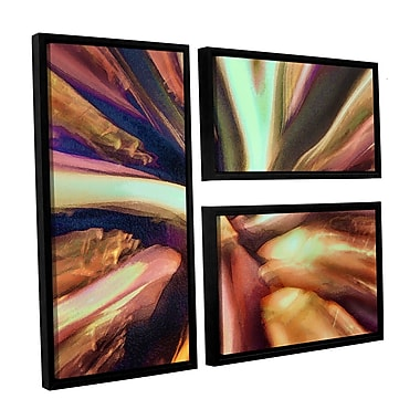 ArtWall 'Espectro Suculenta' 3-Piece Canvas Flag Set 36