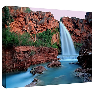 ArtWall 'Havasu Falls Dusk' Gallery-Wrapped Canvas 36