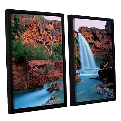 ArtWall 'Havasu Falls Dusk' 2-Piece Canvas Set 24