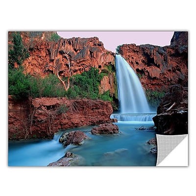 ArtWall 'Havasu Falls Dusk' Art Appeelz Removable Wall Art Graphic 24