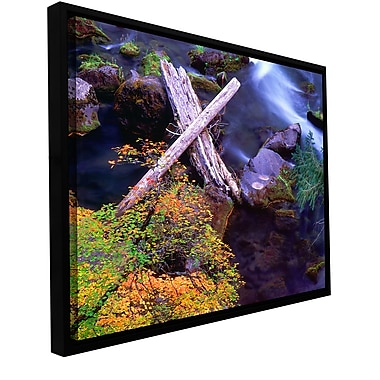 ArtWall 'Rogue River Falls' Gallery-Wrapped Canvas 24