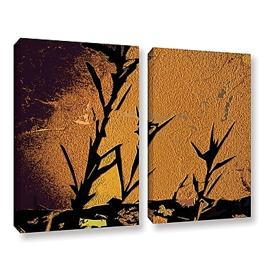 ArtWall 'Shadow Rock' 2-Piece Gallery-Wrapped Canvas Set 24