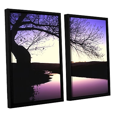 ArtWall 'Squaw Valley Twilight' 2-Piece Canvas Set 24