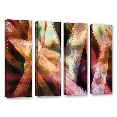 ArtWall 'Suculenta Paleta 2' 4-Piece Gallery-Wrapped Canvas Set 36
