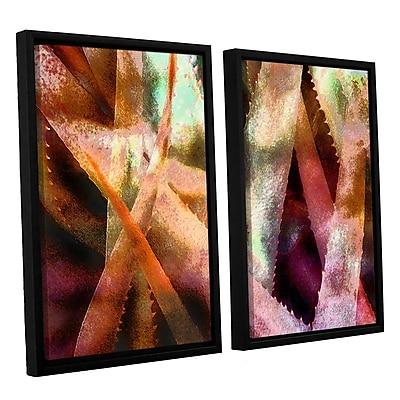 ArtWall 'Suculenta Paleta 2' 2-Piece Canvas Set 24