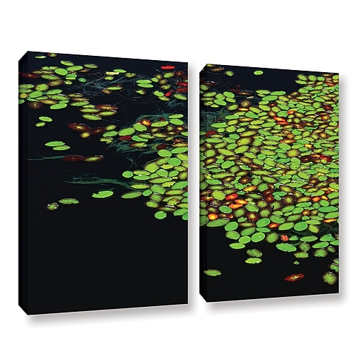 "ArtWall 'Tenmile Lake' 2-Piece Gallery-Wrapped Canvas Set 18"" x 24"" (0uhl141b1824w)"