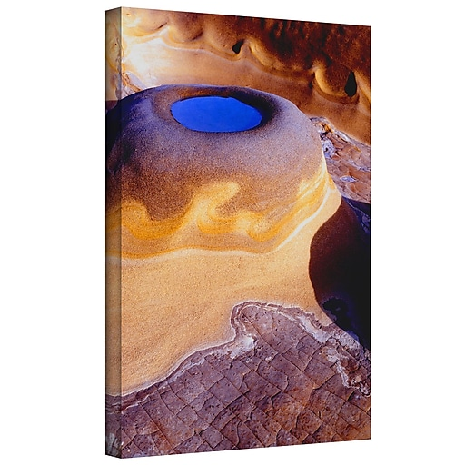 """ArtWall 'The Last Pool' Gallery-Wrapped Canvas 24"""" x 32"""" (0uhl142a2432w)"""
