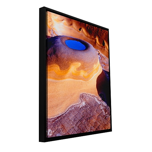 "ArtWall 'The Last Pool' Gallery-Wrapped Canvas 24"" x 32"" Floater-Framed (0uhl142a2432f)"