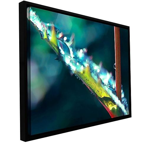 "ArtWall 'After Garden Rain' Gallery-Wrapped Canvas 24"" x 32"" Floater-Framed (0uhl145a2432f)"