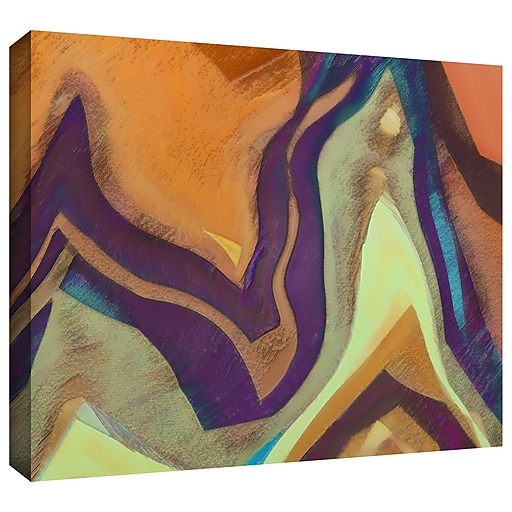 """ArtWall 'Arrt Attack' Gallery-Wrapped Canvas 24"""" x 32"""" (0uhl147a2432w)"""