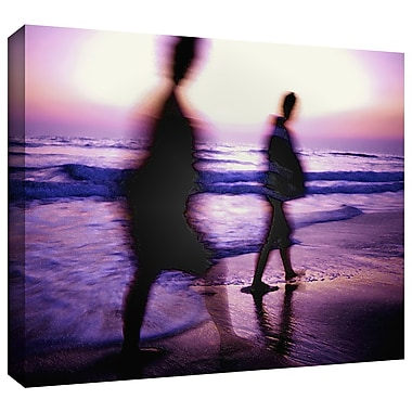 ArtWall 'Beach Combers' Gallery-Wrapped Canvas 36
