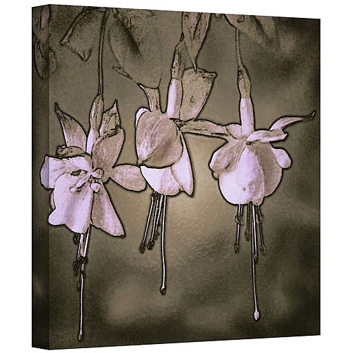 "ArtWall 'Botanical Edges' Gallery-Wrapped Canvas 14"" x 14"" (0uhl151a1414w)"