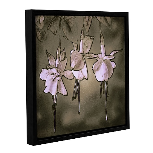 """ArtWall 'Botanical Edges' Gallery-Wrapped Canvas 36"""" x 36"""" Floater-Framed (0uhl151a3636f)"""