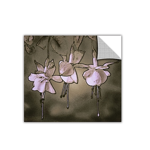 "ArtWall 'Botanical Edges' Art Appeelz Removable Wall Art Graphic 36"" x 36"" (0uhl151a3636p)"