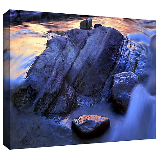 "ArtWall 'Canyon Colours' Gallery-Wrapped Canvas 36"" x 48"" (0uhl152a3648w)"
