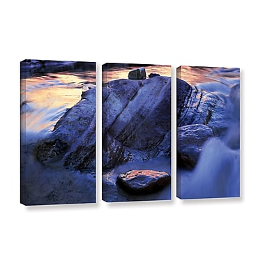 ArtWall 'Canyon Colours' 3-Piece Gallery-Wrapped Canvas Set 36