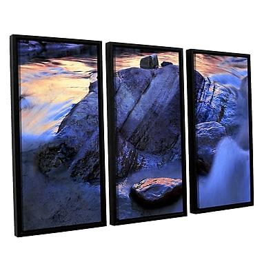 ArtWall 'Canyon Colours' 3-Piece Canvas Set 36