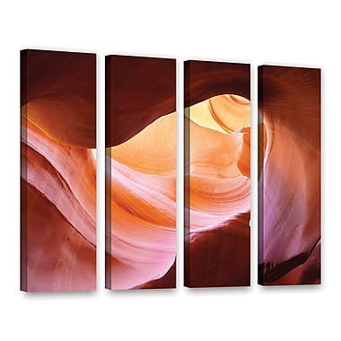 ArtWall 'Canyon Of The Navajo' 4-Piece Gallery-Wrapped Canvas Set 36