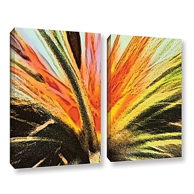 ArtWall 'Christmas Cactus' 2-Piece Gallery-Wrapped Canvas Set 24