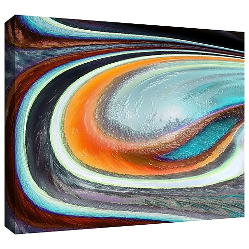 "ArtWall 'Currents' Gallery-Wrapped Canvas 36"" x 48"" (0uhl155a3648w)"