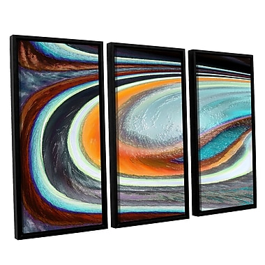 ArtWall 'Currents' 3-Piece Canvas Set 36